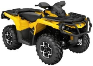Квадроцикл BRP Can-am OUTLANDER 650 XT  (2017)
