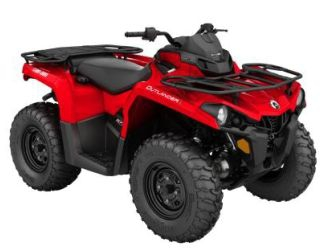 Квадроцикл BRP Can-am OUTLANDER L 450 PRO VIPER RED INT (2016)